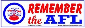 Logo for Remember the AFL