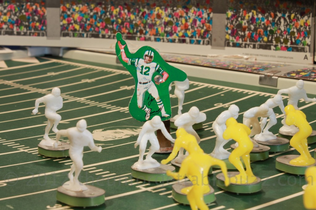 electric football Gotham 1971 NFL Brooklyn Joe Namath