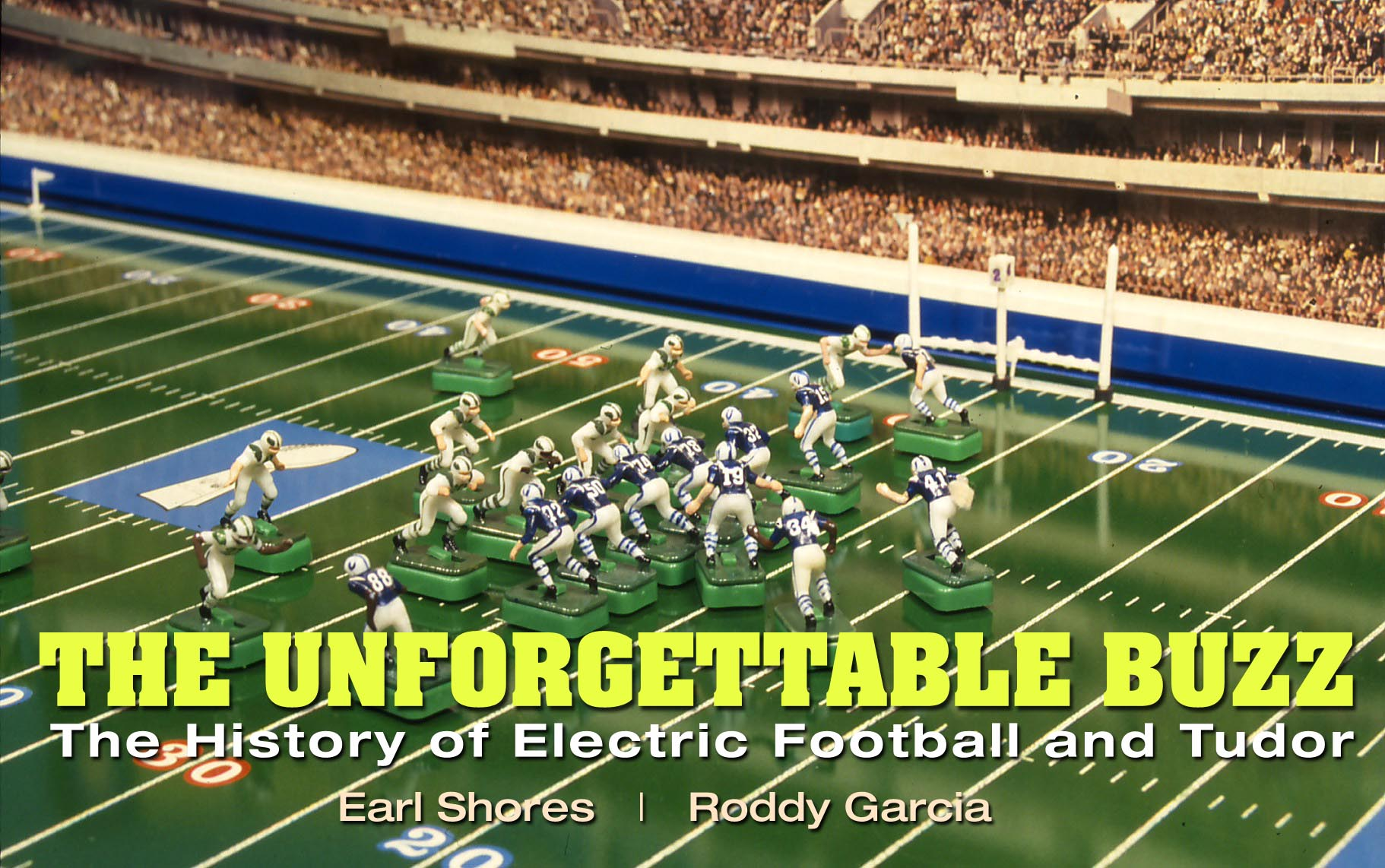 Electric Football book The Unforgettable Buzz