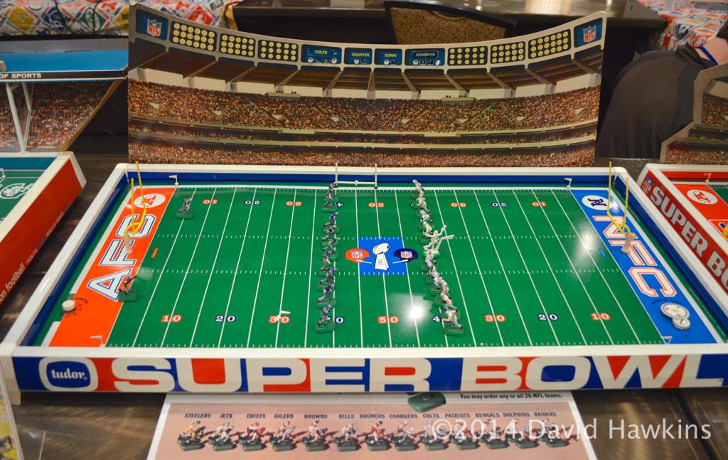 Electric Football 1970 Tudor Super Bowl V Colts Cowboys