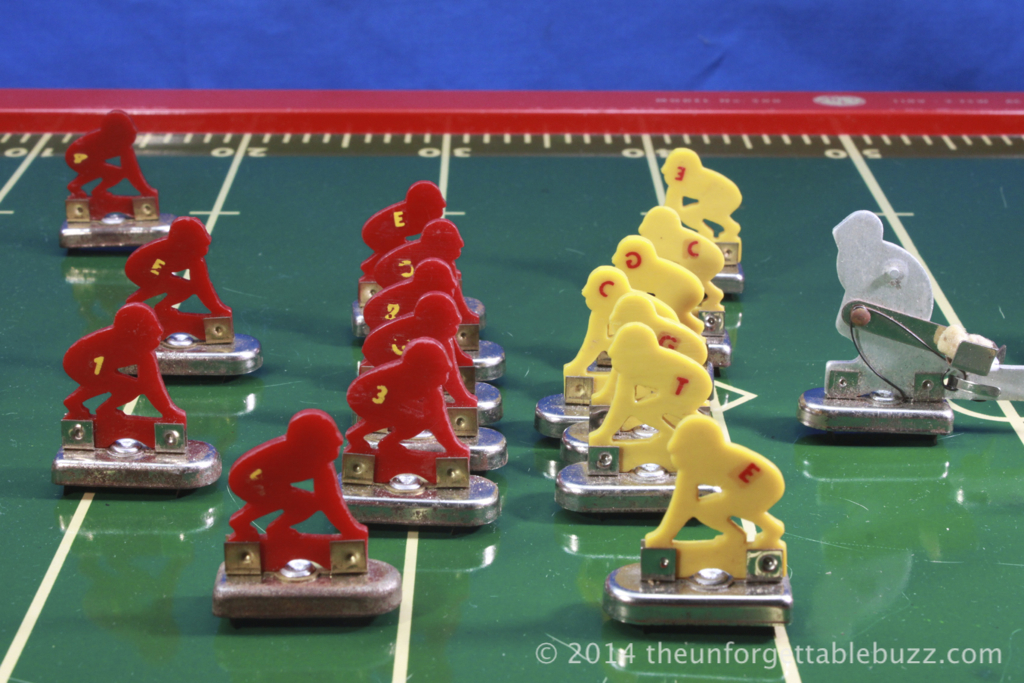 the Electric Football game that started it all - the 1949 Tudor Tru-Action No. 500.