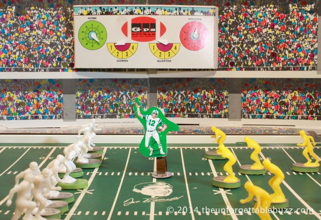 1969 Gotham Joe Namath Electric Football Game