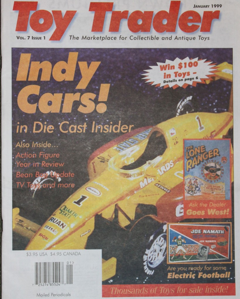 1999 Toy Trader Cover