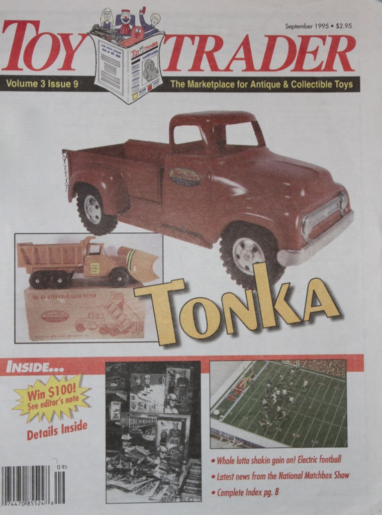 Cover of the September 1995 Toy Trader