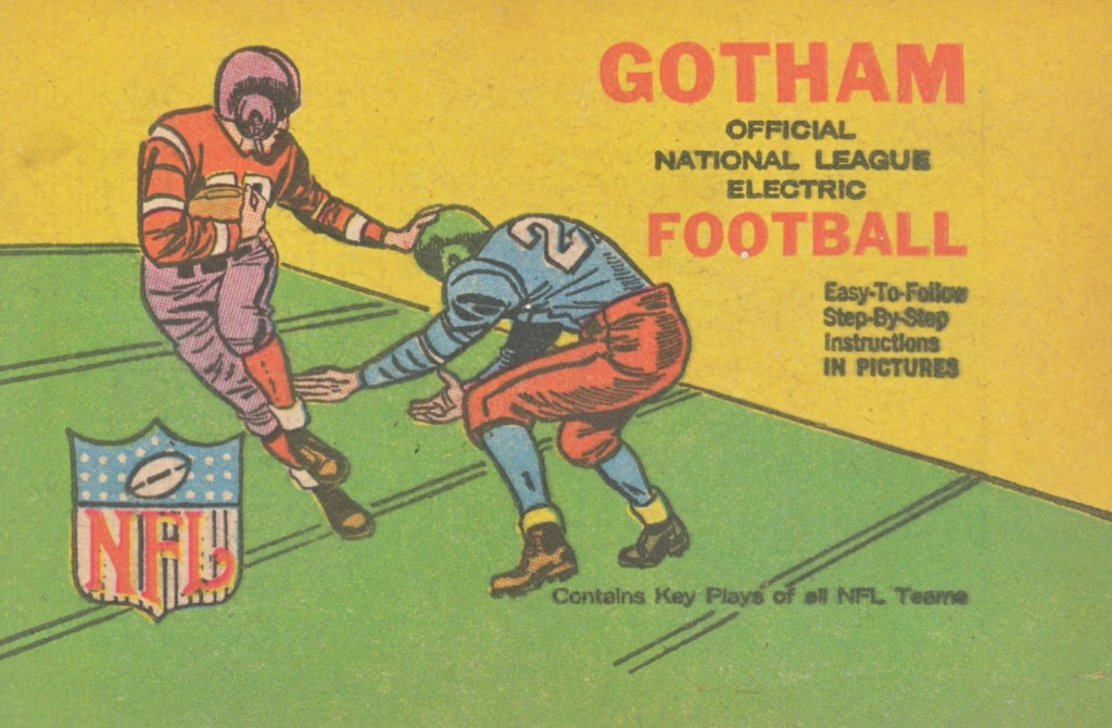 Cover of the 1961 Gotham rule book