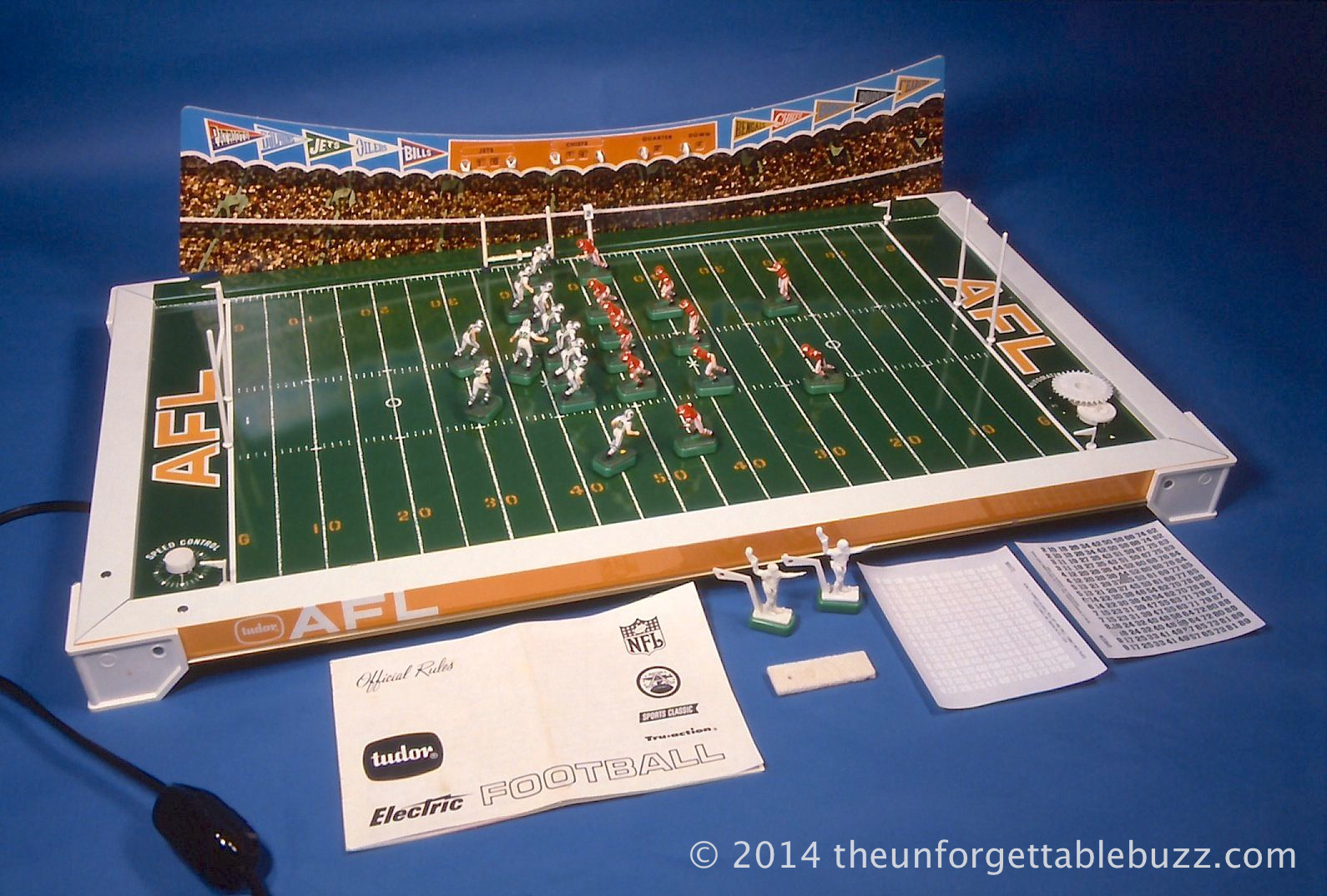 1968 Tudor AFL No. 520 Electric Football Game