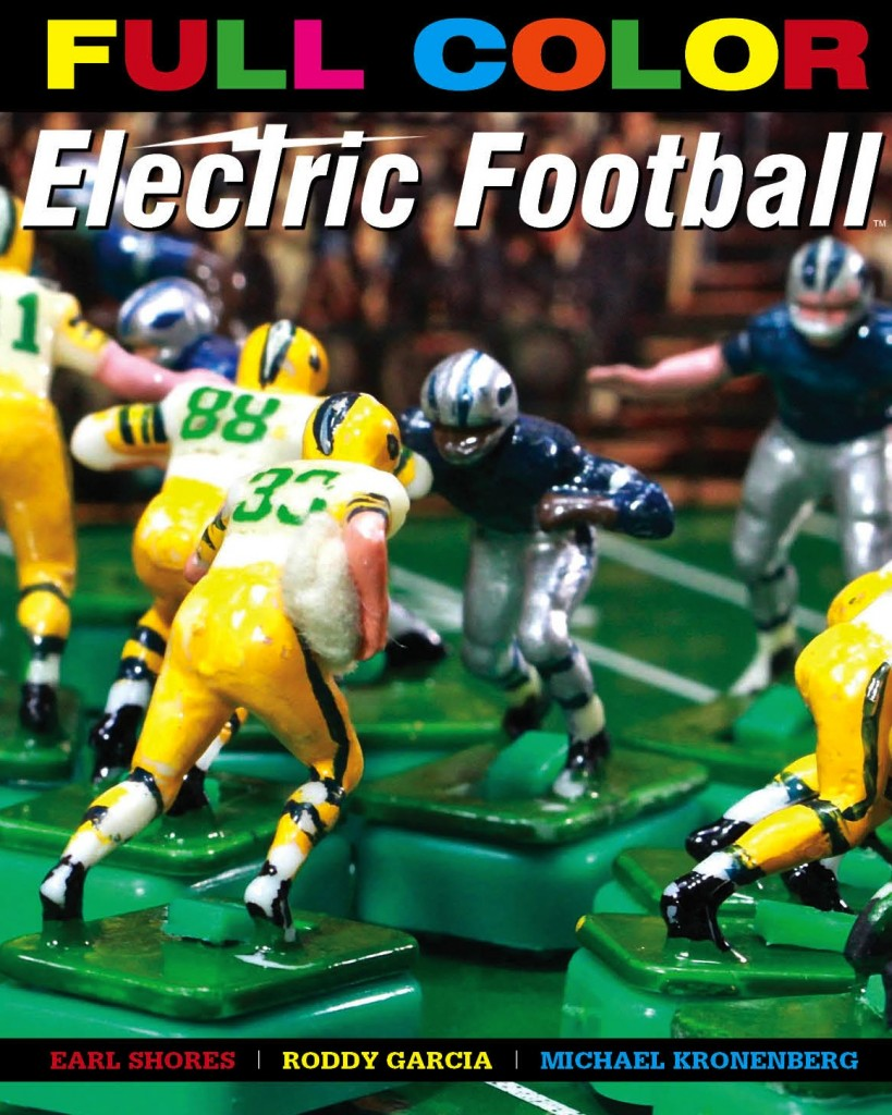 The cover of the book Full Color Electric Football