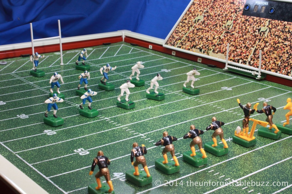 The 1962 Tudor No. 600 Electric Football game.