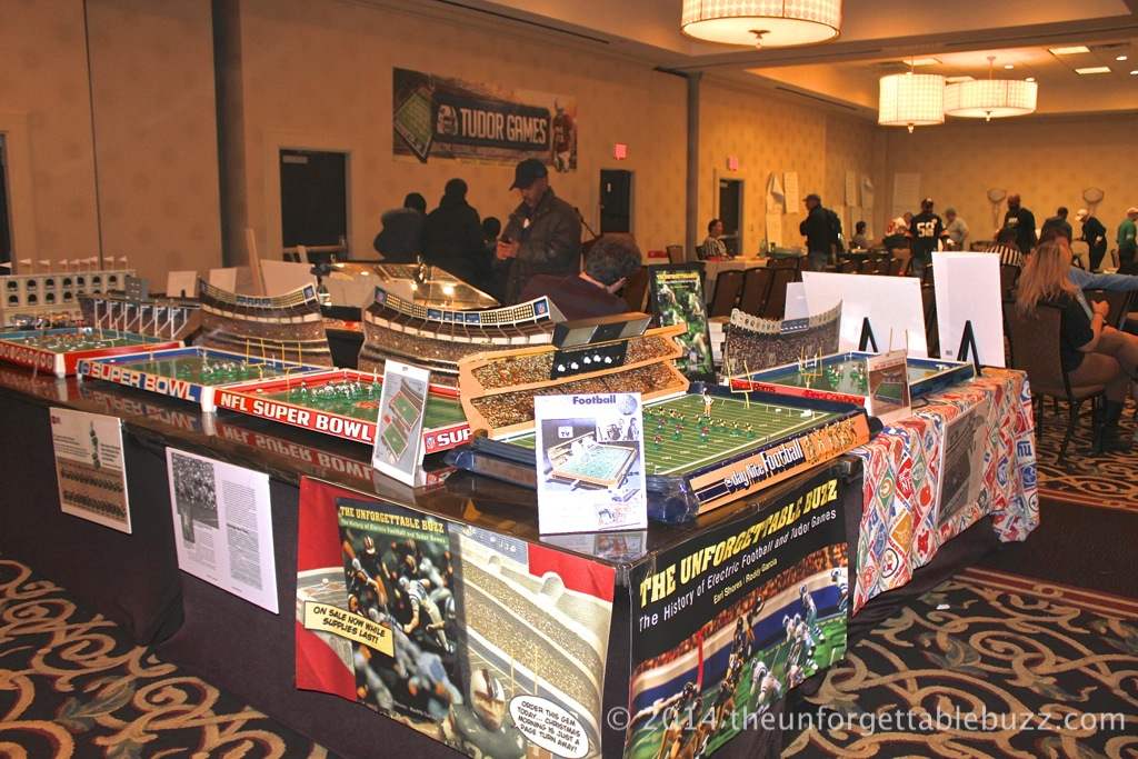 Electric Football game display at TudorCON 14