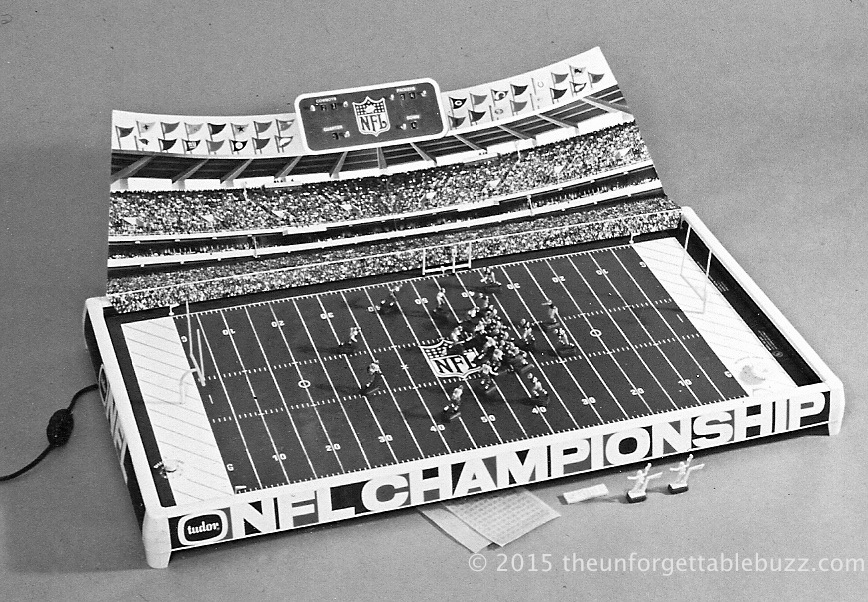 Tudor's 1968 Ice Bowl prototype Electric Football game