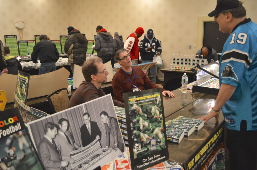 Buzz authors Talking with John at TudorCON 14