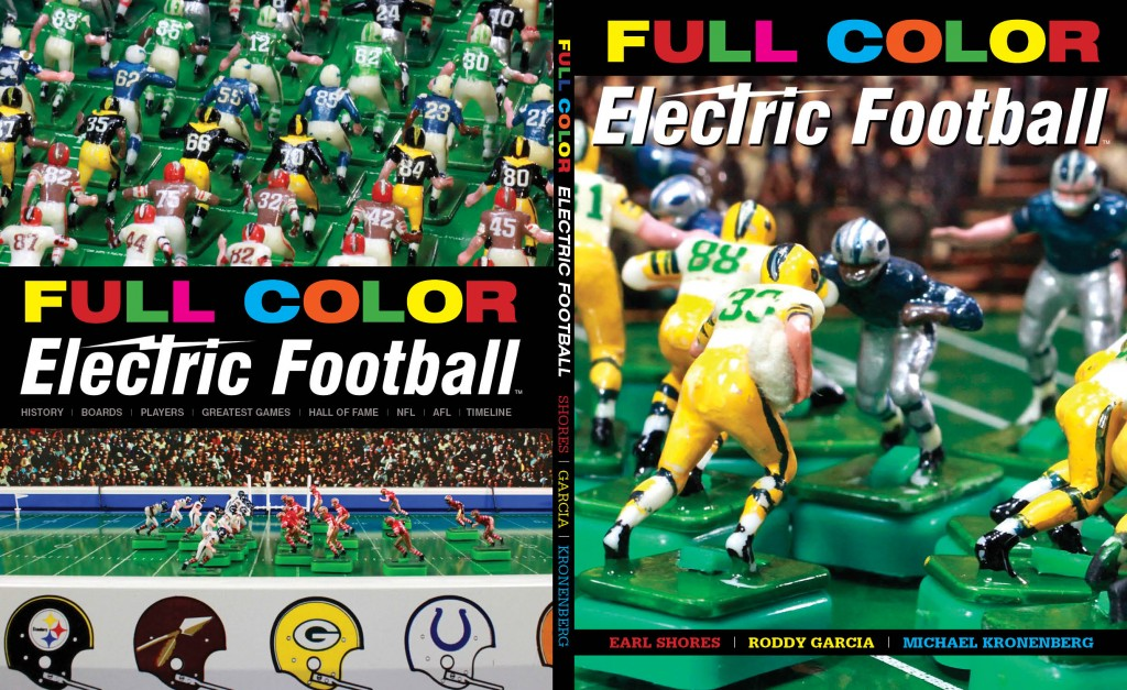 The full cover of the book Full Color Electric Football