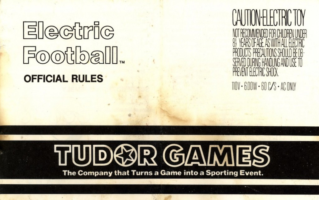 Cover of the 1979 Tudor Rule Book