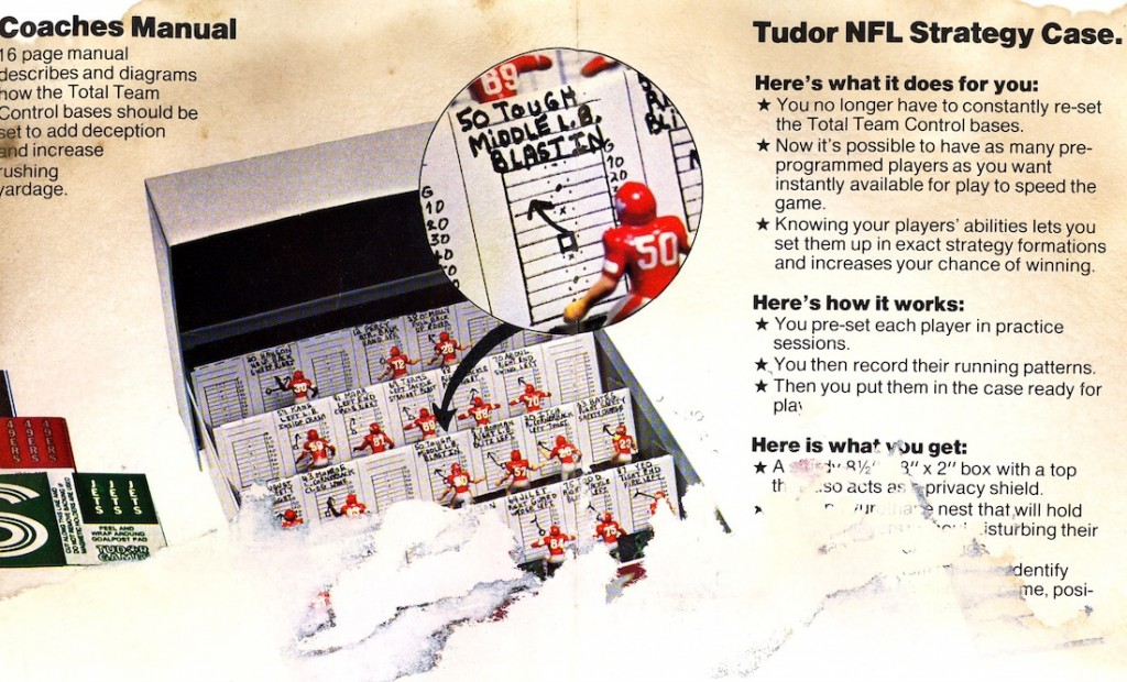 1979 Tudor NFL Rule Book
