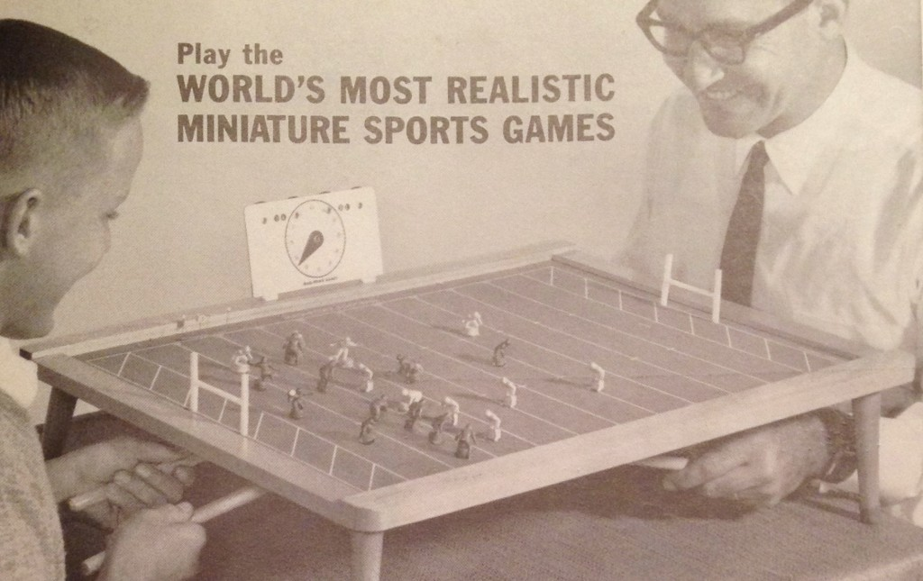 1960 Mag-Powr Electric Football game