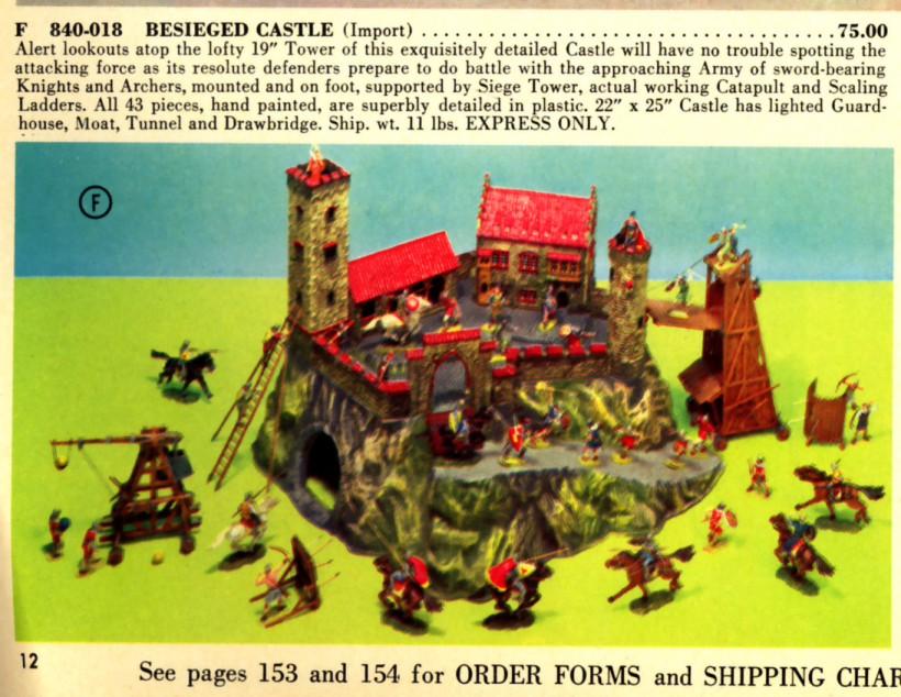 "FAO Schwarz ""Besieged Castle"" playset"