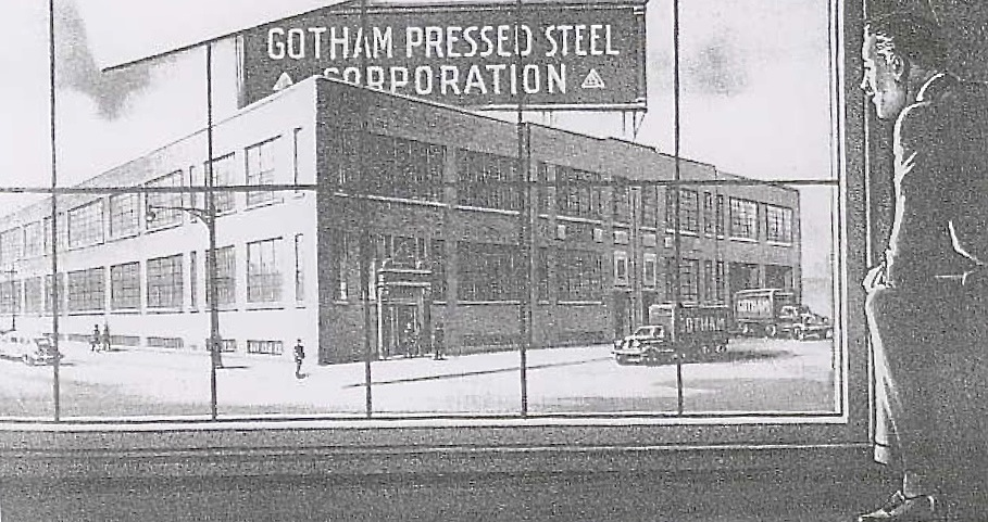 An 1940 Playthings ad for Gotham's new factory