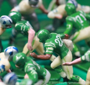 1967 Philadelphia Eagles Electric Football player