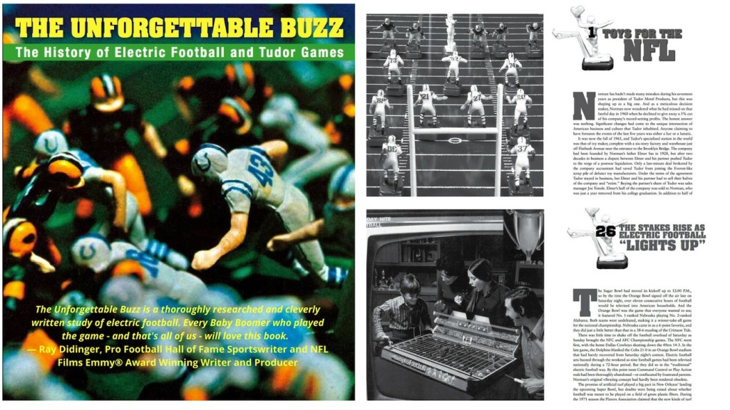 electric football book the unforgettable buzz page