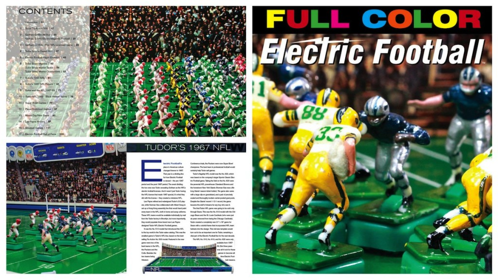 full color electric football book pages
